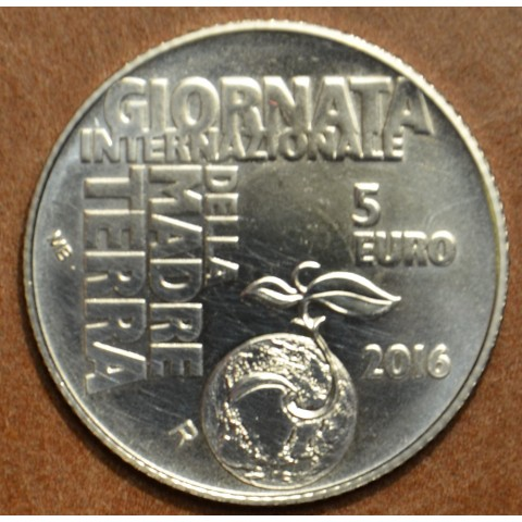 5 Euro San Marino 2016 - Madre Terra (BU)