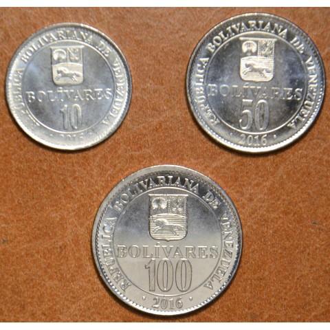 Venezuela 3 coins 2016 (UNC)