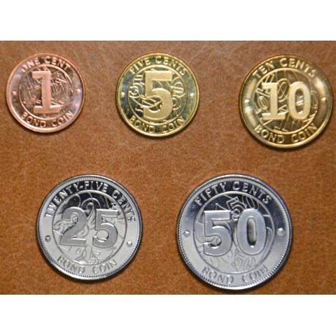 Zimbabwe 5 coins 2004 (UNC)