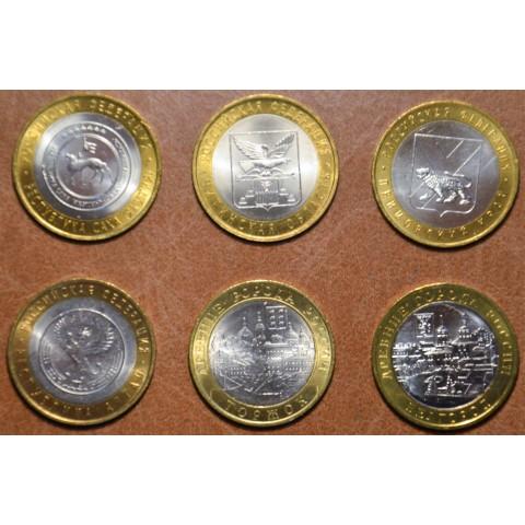 Russia 6x 10 Rubles 2006 (UNC)