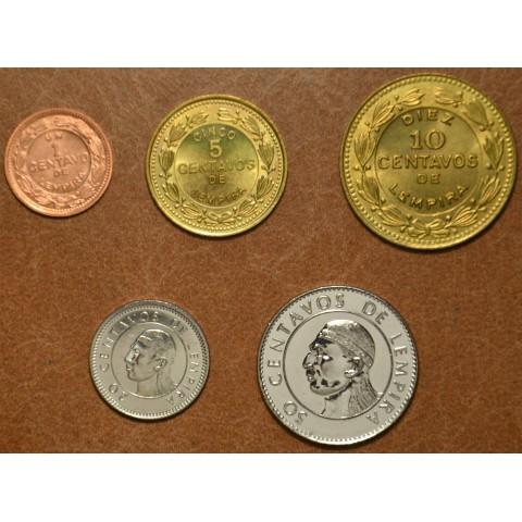 Honduras 5 coins 1956-1999 (UNC)