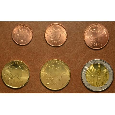 Azarbaijan 6 coins 2006 (UNC)