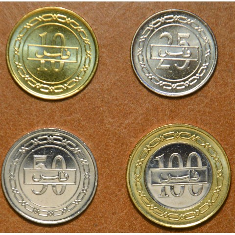 Bahrain 4 coins 2007-2008 (UNC)