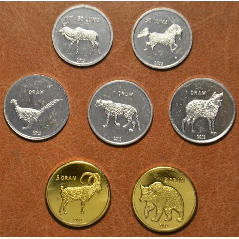 Republic of Artsakh 7 coins 2013 (UNC)