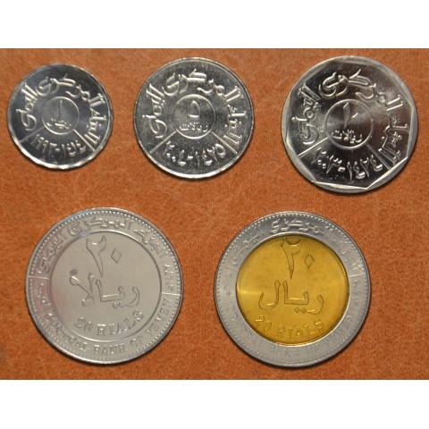 Yemen 5 coins 1993-2006 (UNC)