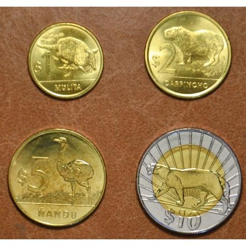 Uruguay 4 coins 2011-2012 (UNC)
