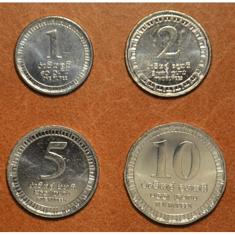 Srí Lanka 4 coins 2017 (UNC)
