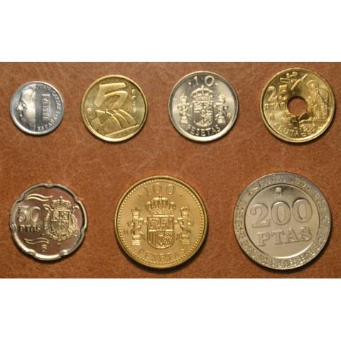 Spain 7 coins 1998 (UNC)