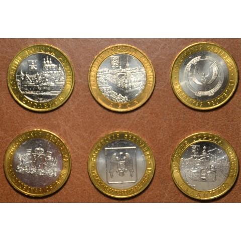 Russia 6x 10 Rubles 2008 (UNC)