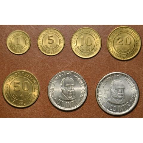 Peru 7 coins 1985-1988 (UNC)