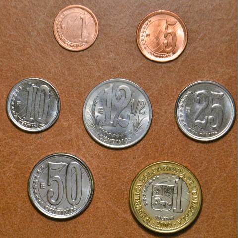 Venezuela 7 coins 2007-2012 (UNC)