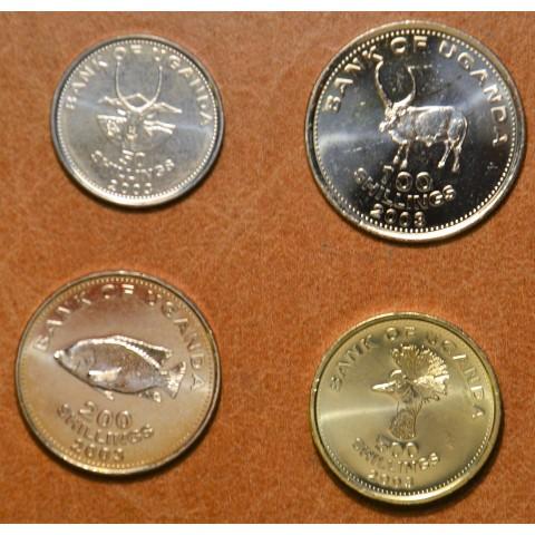 Uganda 4 coins 2003 (UNC)