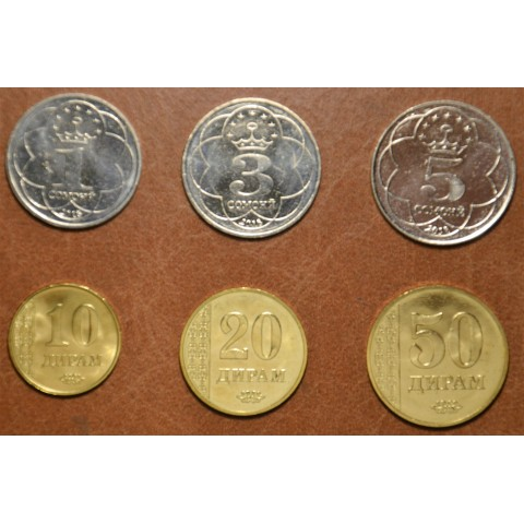 Tajikistan 6 coins 2018 (UNC)