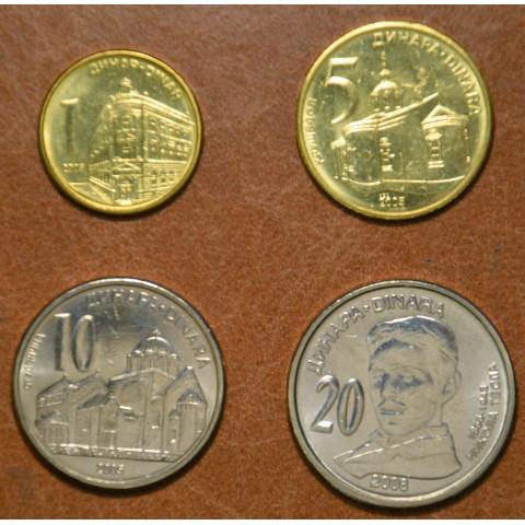 Serbia 4 coins 2005-2006 (UNC)