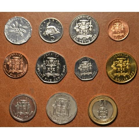 Jamaica 11 coins 1990-2001 (UNC)