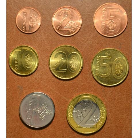 Belarus 8 coins 2009 (UNC)