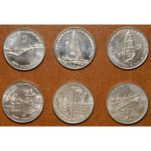 Romania 6x 10 Leu 1996 (UNC)