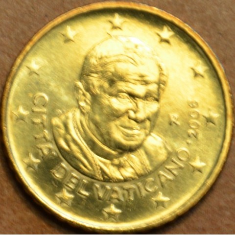 50 cent Vatican His Holiness Pope Benedict XVI. 2002 (BU)