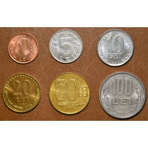 Romania 6 coins (UNC)