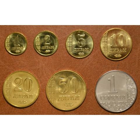 Tajikistan 7 coins 2011 (UNC)