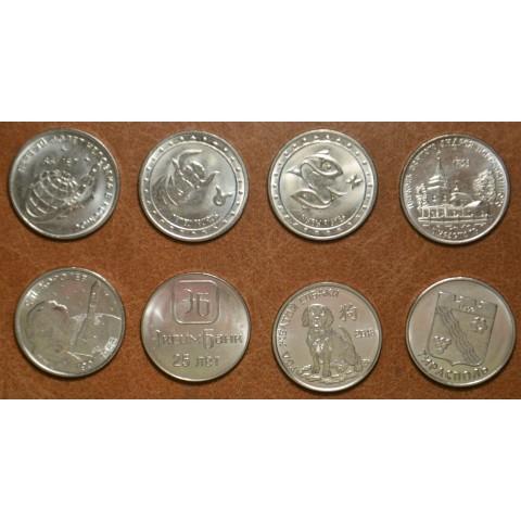 Transnistria 8x 1 rubles (UNC)