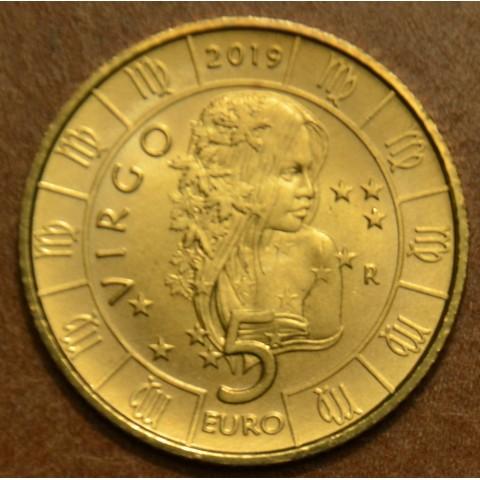 5 Euro San Marino 2018 Zodiac: Virgin (UNC)