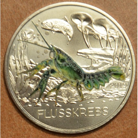 3 Euro Austria 2019 - The cryfish (UNC)