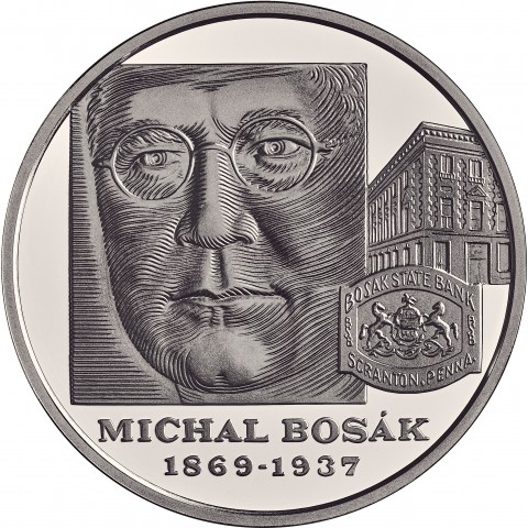 10 Euro Slovakia 2019 - 150th anniversary of the birth of Michal Bosák (Proof)