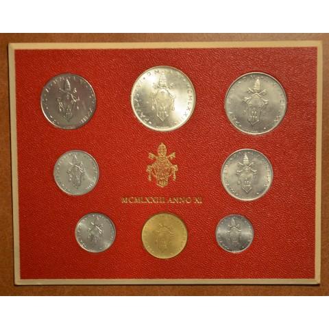 Vatican 8 coins 1973 (BU)