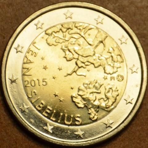 2 Euro Finland 2015 - Jean Sibelius (UNC)