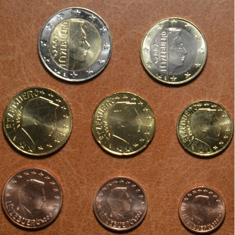 Set of 8 coins Luxembourg 2007 (UNC)