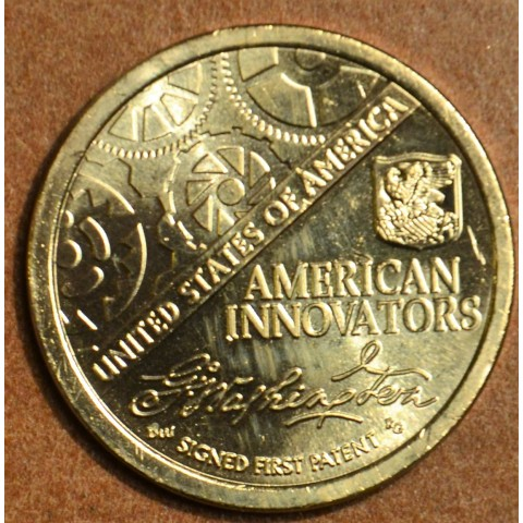 "1 dollar USA ""D"" 2018 American Innovation - First patent (UNC)"