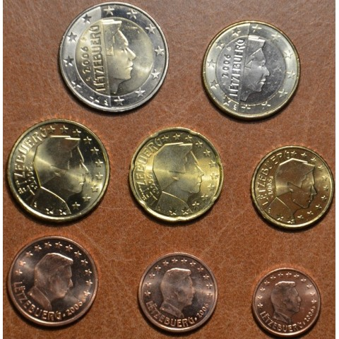 Set of 8 coins Luxembourg 2006 (UNC)