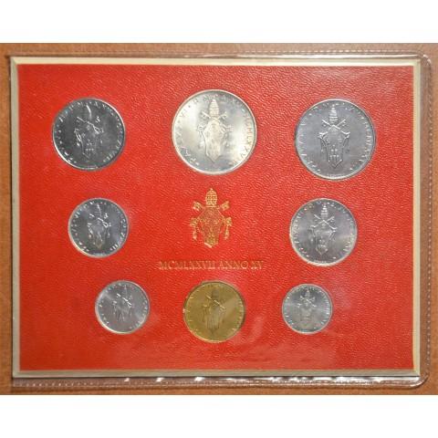 Vatican 8 coins 1977 (BU)