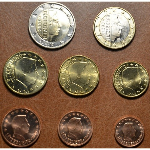 Set of 8 coins Luxembourg 2005 (UNC)