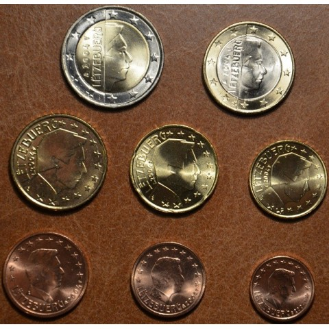Set of 8 coins Luxembourg 2004 (UNC)