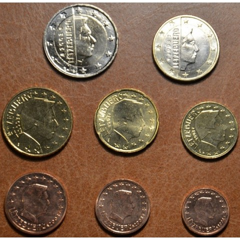 Set of 8 coins Luxembourg 2003 (UNC)
