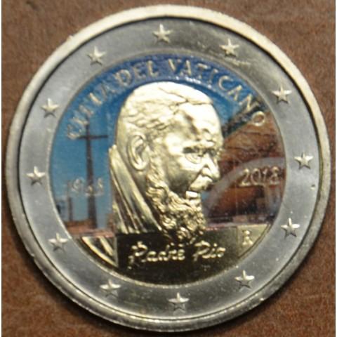 2 Euro Vatican 2018 - Padre Pio (colored UNC)