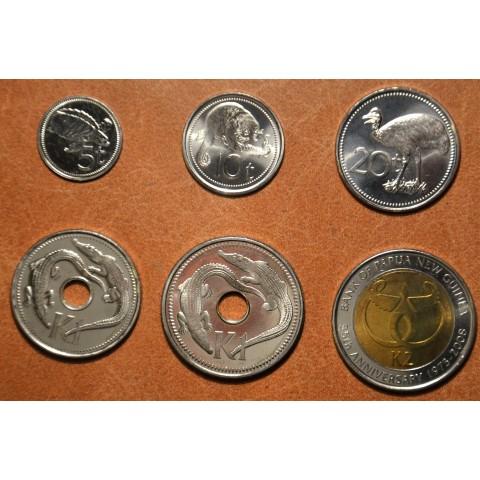 Papua New Guinea 6 coins 2009-2010 (UNC)