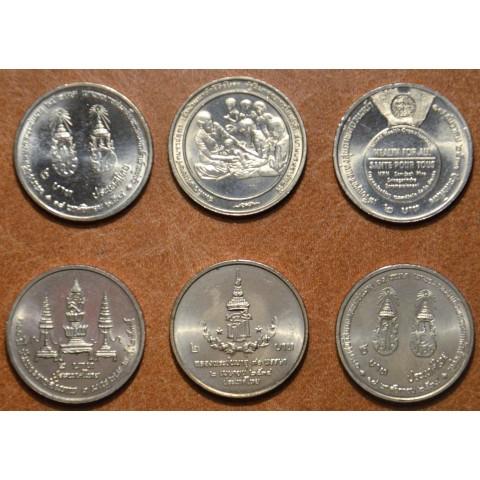 Thailand 6x 2 baht (UNC)
