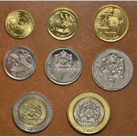 Morocco  8 coins 2002 (UNC)