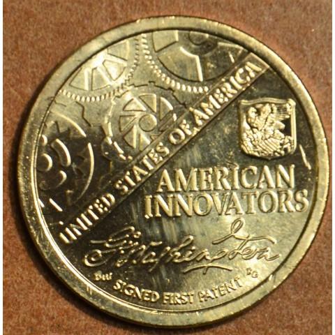 "1 dollar USA ""P"" 2018 American Innovation - First patent (UNC)"
