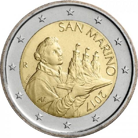 2 Euro San Marino 2017 - Saint Marinus (UNC)