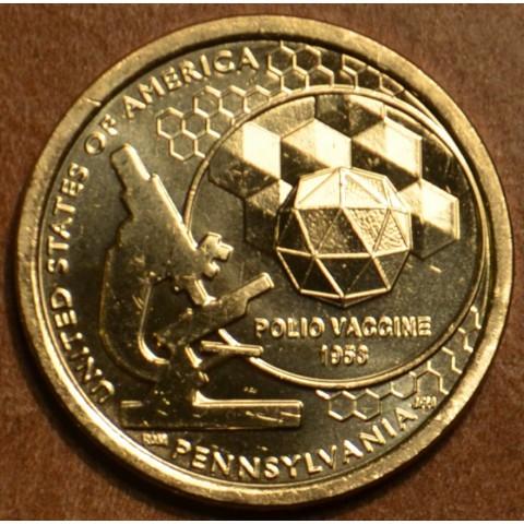 "1 dollar USA ""P"" 2019 Pennsylvania (UNC)"