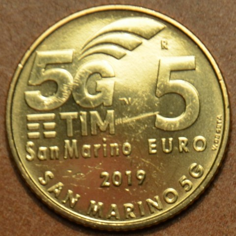 5 Euro San Marino 2019 - 5G (UNC)