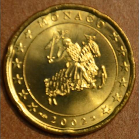 20 cent Monaco 2002 (UNC)