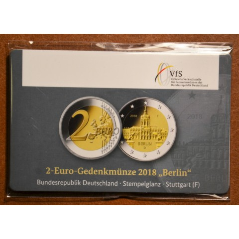 "2 Euro Germany ""F"" 2018 - Berlin:  Scharlottenburg (BU)"