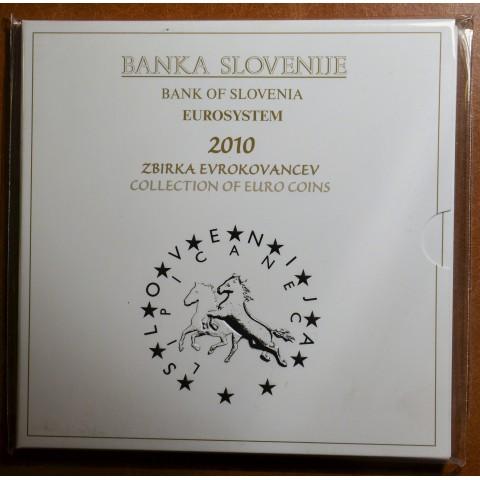 Set of 10 coins Slovenia 2010 (BU)