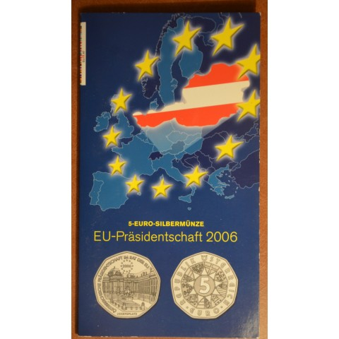5 Euro Austria 2006 - EU presidency (BU)