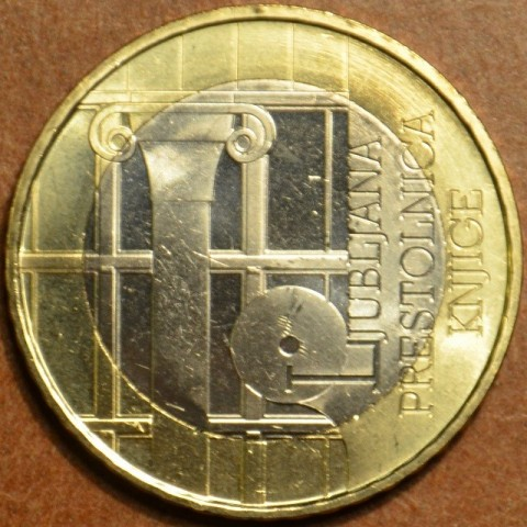 Commemorative coin 3 Euro Slovenia 2010 (UNC)